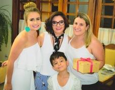 Carina, Fernanda e Bianca e Bernardo