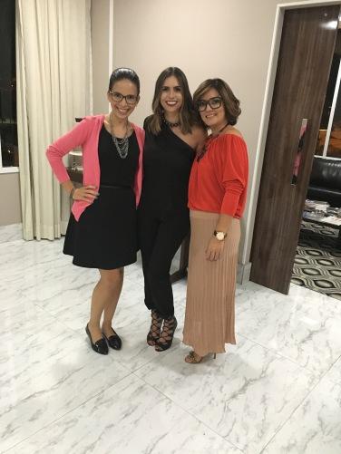 Ayde, Michelle e Fernanda